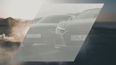 Audi R8 facelift teaser