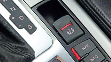 Audi A6 hand brake detail