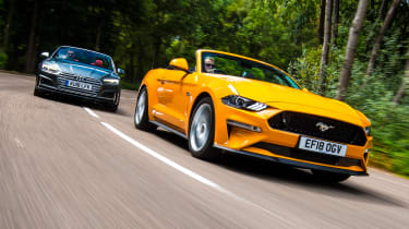 Ford Mustang Convertible vs Audi S5 Cabriolet