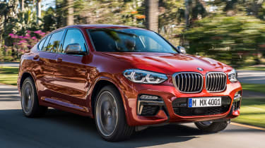BMW X4 - front