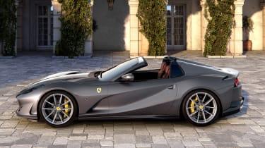 Ferrari 812 GTS - side