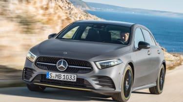 New Mercedes A-Class - front