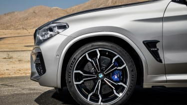BMW X3 M Competition - wheel