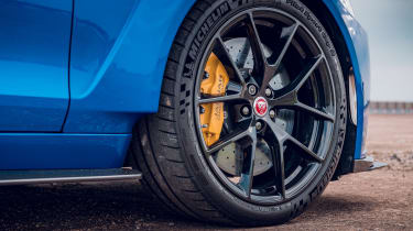 Jaguar XE Project 8 - wheel
