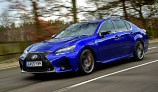 New Lexus GS F 2016 - front tracking 2