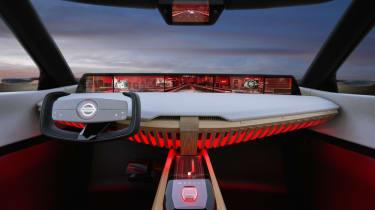Nissan Xmotion Concept - cockpit