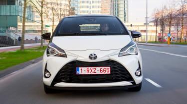 Toyota Yaris - full front