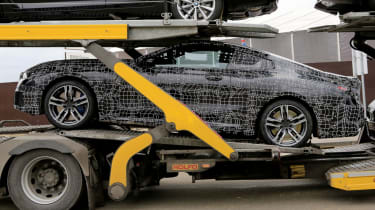 BMW 8 Series - side profile