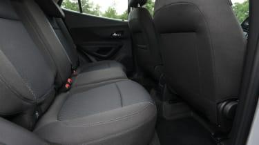 Vauxhall Mokka X - rear seats