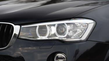 BMW X4 - front light detail