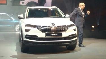 Skoda Karoq - reveal full front
