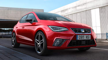 New SEAT Ibiza - front