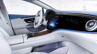 Mercedes EQE - interior