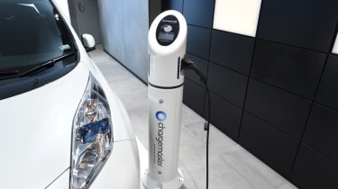 Electric Vehicle Experience Centre - Nissan leaf charging
