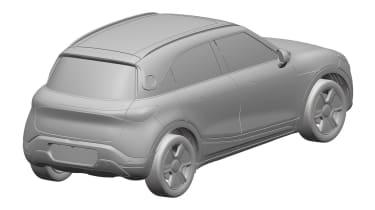 Smart SUV - design patent rear
