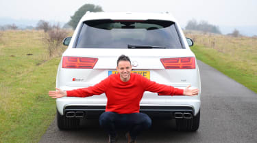 Audi SQ7 long term test - first report full rear