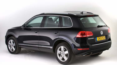 Used Volkswagen Touareg - rear