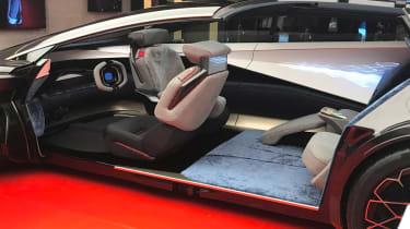 Aston Martin Lagonda Vision concept - show interior