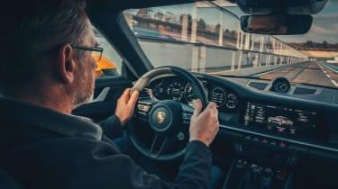 Porsche 911 - John Barker driving