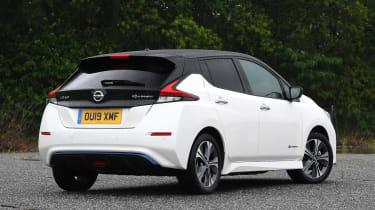 Nissan Leaf e+ - rear static