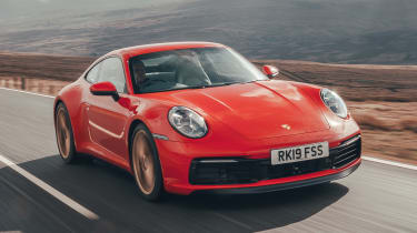 718 Cayman - tracking front