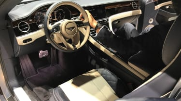 Bentley Continental GT - Frankfurt dash