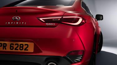 Infiniti Q60 - rear end studio