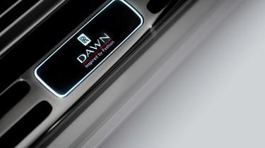 Rolls-Royce Dawn Inspired by Fashion - sill