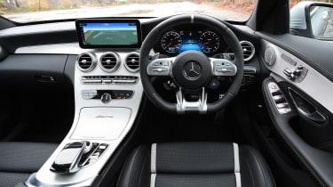 Mercedes-AMG C 63 S - dash