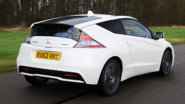 Combining a 1.5 litre petrol engine with a 19bhp electric motor, the CR-Z promises warm performance and good economy.