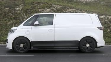 VW ID Buzz spy pic