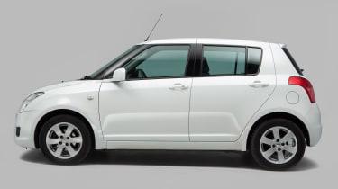 Used Suzuki Swift Mk5 - side