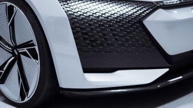 Audi Aicon concept - front detail