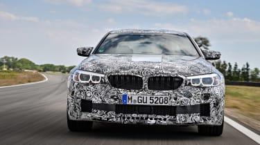 BMW M5 prototype - full front