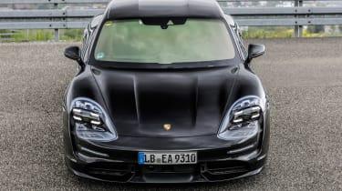 Porsche Taycan - full front