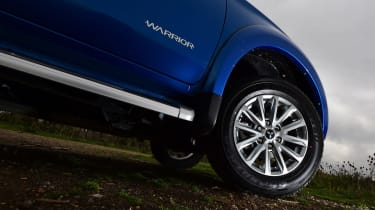 Mitsubishi L200 long termer - fourth report wheel