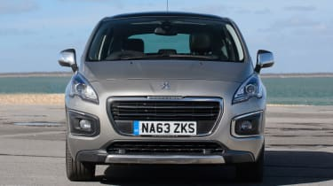 Used Peugeot 3008 - full front