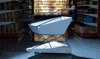 Ford reveals self-braking trolley