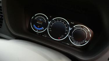 LEVC TX London Taxi - dials