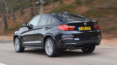 Used BMW X4 - rear action