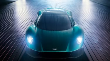 Aston Martin Vanquish Vision concept - full front
