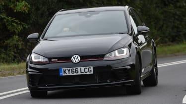Volkswagen Golf GTI Clubsport UK 2016 - front cornering
