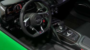 Audi R8 Spyder V10 Plus - Goodwood reveal interior
