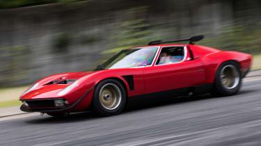 Lamborghini Miura SVR - front