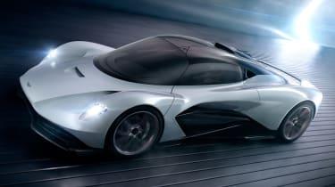 Aston Martin 003 concept - front action