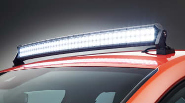 Skoda Mountiaq - light bar