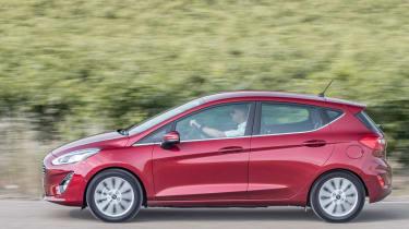 Ford Fiesta Titanium 2017 side view
