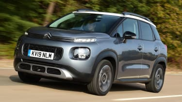 Citroen C3 Aircross - front driving