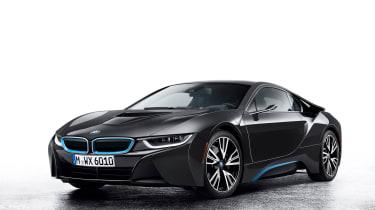 BMW i8 Mirrorless front side