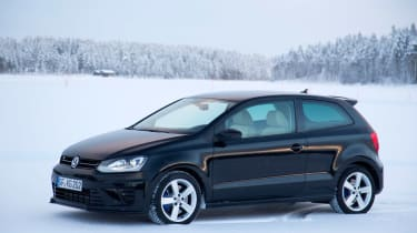 Volkswagen Polo R black static